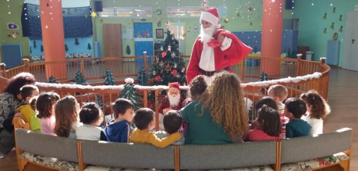 Ο Άγιος Βασίλης επισκέφθηκε τους μαθητές των παιδικών σταθμών Αγρινίου (ΔΕΙΤΕ ΦΩΤΟ)