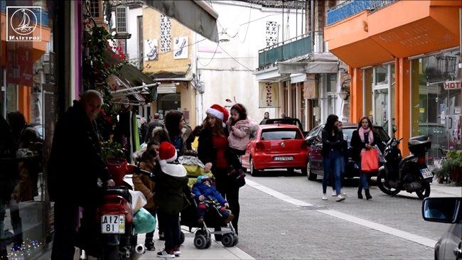 Η αγορά της Αμφιλοχίας παραμονή Χριστουγέννων (ΦΩΤO + VIDEO)