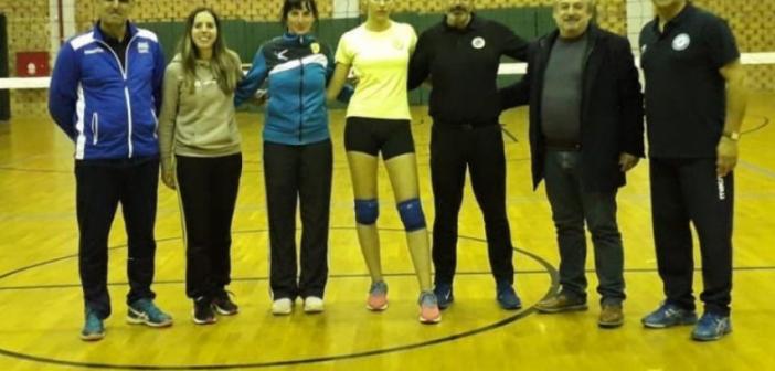 Η αθλήτρια του Παναιτωλικού Σοφία Αυδή για 2η χρονιά συμμετέχει στο Πρόγραμμα Λειτουργίας Προεθνικών Ομάδων Πετοσφαίρισης (ΔΕΙΤΕ ΦΩΤΟ)