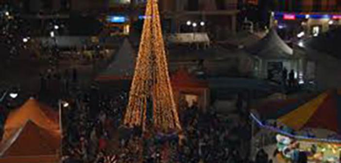 Φωταγώγηση Χριστουγεννιάτικων Δένδρων στο Δήμο Ι.Π. Μεσολογγίου