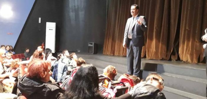 Το ΔΗΠΕΘΕ Αγρινίου συμμετείχε στον εορτασμό της Παγκόσμιας Ημέρας Α.με.Α. (ΦΩΤΟ)