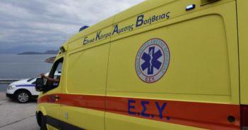 Αμφιλοχία: Στο νοσοκομείο ηλικιωμένη που έπεσε και χτύπησε το κεφάλι της
