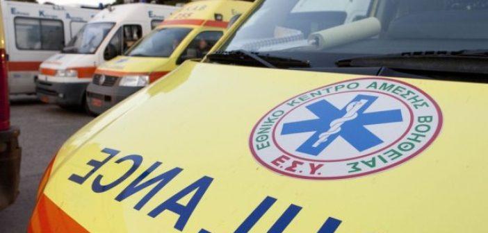 Καινούργιο: Σε κρίσιμη κατάσταση δικυκλιστής που ενεπλάκη σε τροχαίο ατύχημα – Νοσηλεύεται στην Πάτρα