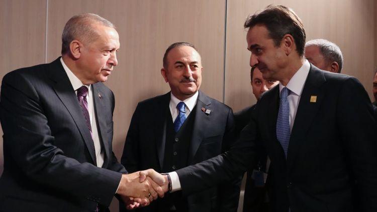 Ολοκληρώθηκε χωρίς δηλώσεις η συνάντηση Μητσοτάκη – Ερντογάν (ΦΩΤΟ + VIDEO)