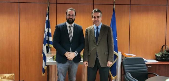 Ο Νεκτάριος Φαρμάκης σε σύσκεψη στην ΕΝΠΕ με κυβερνητικά στελέχη και επίσκεψη στις «Κτιριακές Υποδομές»