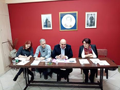 Συνάντηση Συλλόγων Μελών της Ο.ΣΥ.Ν. με τον Δήμαρχο Ναυπακτίας κον Βασίλη Γκίζα
