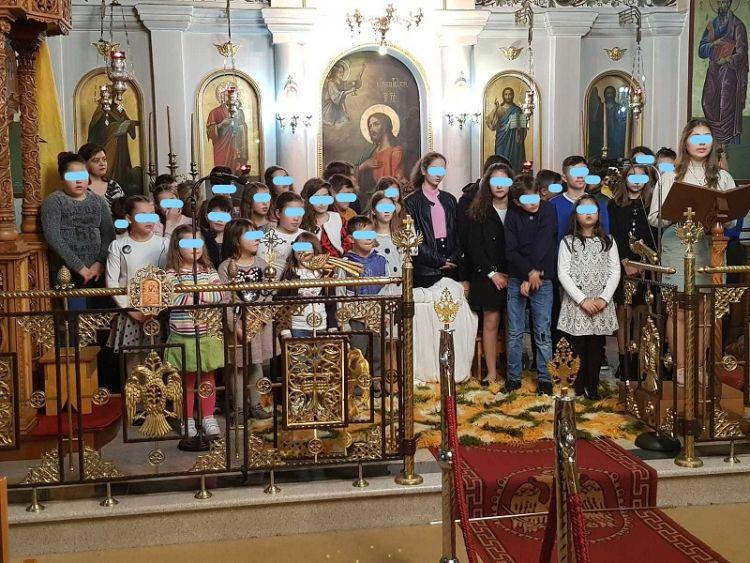 Γιορτή του κατηχητικού της ενορίας του Αποστόλου Παύλου Μεγάλης Χώρας (ΦΩΤΟ)