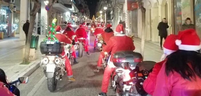 Αγρίνιο: Οι «μηχανόβιοι» Άγιοι Βασίληδες χάρισαν για ακόμη μια χρονιά χαμόγελα (ΔΕΙΤΕ ΦΩΤΟ)