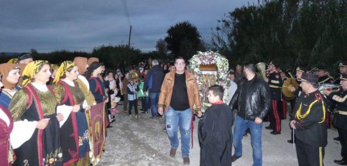 Η Λιτάνευση της Ιερής Εικόνας του Αγίου Νικολάου στα Καλύβια (ΔΕΙΤΕ ΦΩΤΟ)