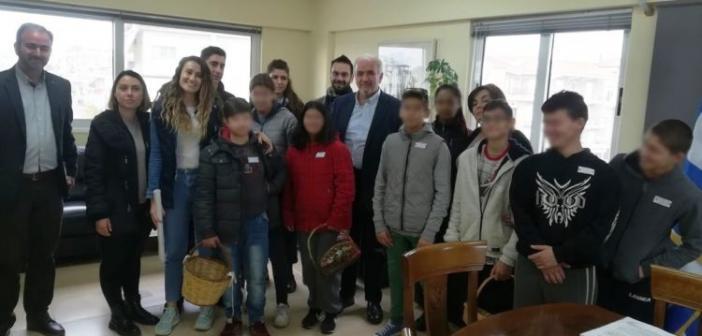 Επίσκεψη από το Ενιαίο Ειδικό Επαγγελματικό Γυμνάσιο – Λύκειο Μεσολογγίου (ΦΩΤΟ)