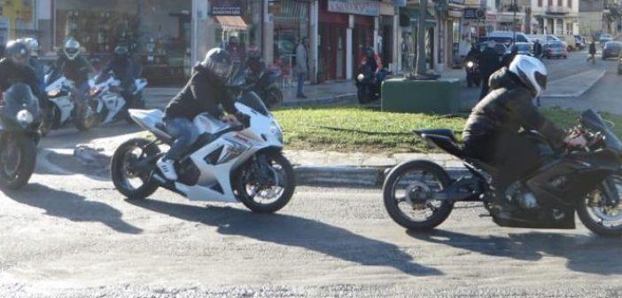 Γκρουπ μοτοσικλετιστών σε Αμφιλοχία και Θέρμο (ΔΕΙΤΕ ΦΩΤΟ)