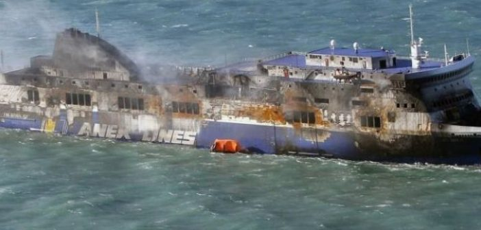 Tο ελληνικό κατηγορητήριο για το «Norman Atlantic» – Τα λάθη στο γκαράζ και το μοιραίο φορτηγό