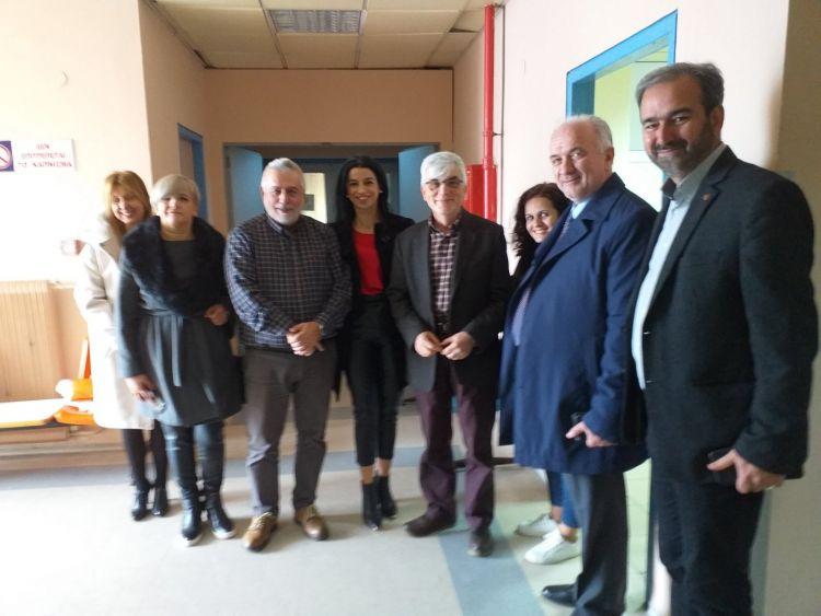 Επίσκεψη του Δημάρχου Κώστα Λύρου στο Γενικό Νοσοκομείο Μεσολογγίου και το Σελίβειο Γηροκομείο (ΦΩΤΟ)
