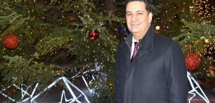 Οι Χριστουγεννιάτικες ευχές του Δημάρχου Αγρινίου Γιώργου Παπαναστασίου