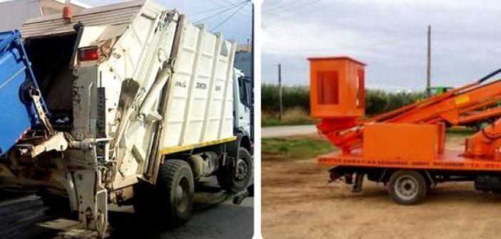 Δύο χρήσιμα οχήματα προμηθεύτηκε ο Δήμος Ξηρομέρου (ΔΕΙΤΕ ΦΩΤΟ)