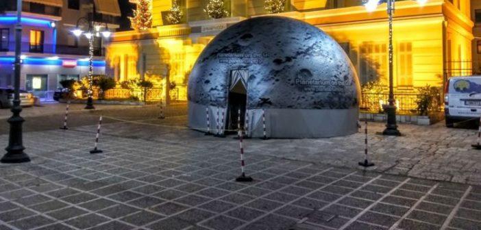 Ψηφιακό Πλανητάριο στην Κεντρική πλατεία του Μεσολογγίου