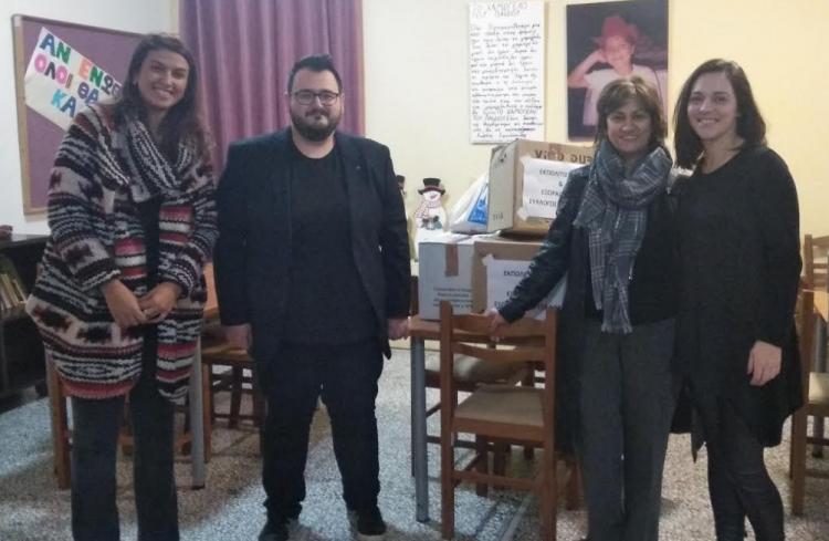 Επίσκεψη Εκπολιτιστικού και Εξωραϊστικού Συλλόγου Σαργιάδας στο Χαμόγελο του Παιδιού (ΦΩΤΟ)