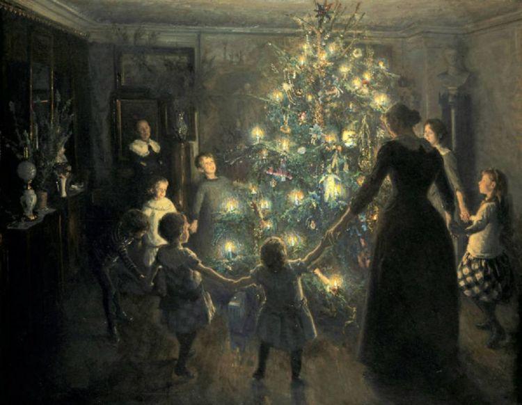 Σε αυτό το σπίτι στήθηκε το πρώτο χριστουγεννιάτικο δέντρο στην Ελλάδα