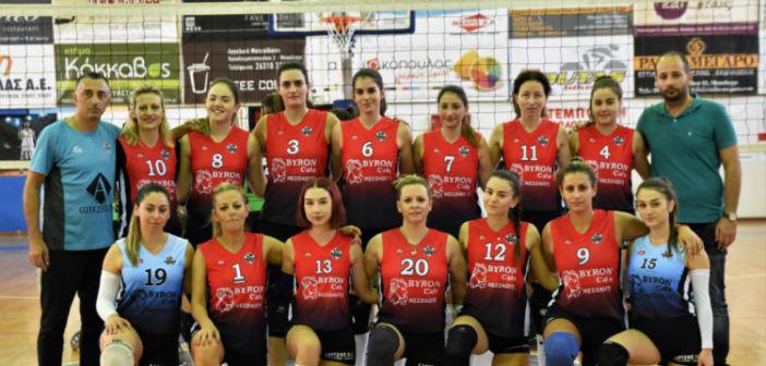 Σημαντική νίκη για τα κορίτσια του Χαρίλαου Τρικούπη