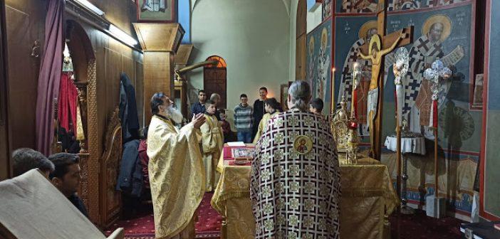 Χριστουγεννιάτικη Θεία Λειτουργία στον Ι.Ν. Αγίου Θωμά Αγρινίου (ΦΩΤΟ + VIDEO)