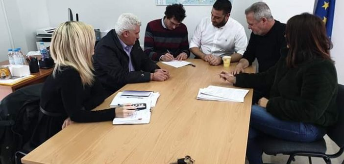 Υπογράφτηκε η σύμβαση για την μελέτη παράκαμψης του οικισμού Εμπεσσού (ΦΩΤΟ)