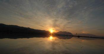 Μαγικό ηλιοβασίλεμα από το Αντίρριο και την Παλιοβούνα (VIDEO)