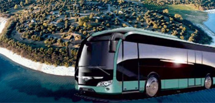 Μεταφορά με λεωφορεία στο συλλαλητήριο της Κυριακής στον Άγριλο