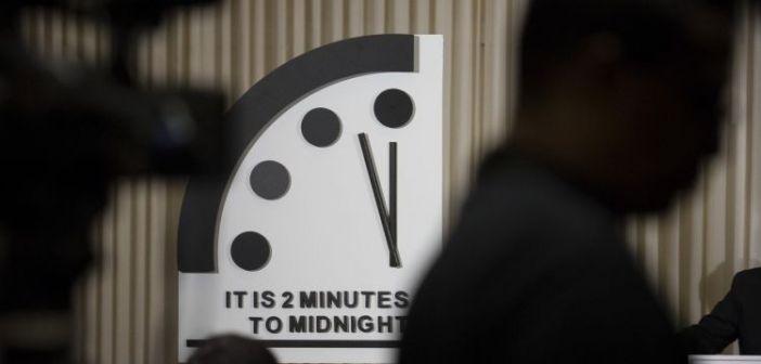 «Ρολόι της Αποκάλυψης»: 100 δευτερόλεπτα πριν από το τέλος του πολιτισμού