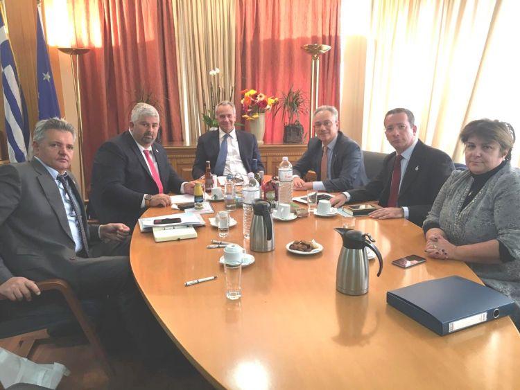 Εποικοδομητική συνάντηση Μελών του ΔΣ της πρωτοβουλίας ΕΛΛΑ-ΔΙΚΑ ΜΑΣ με τον Υπουργό Αγροτικής Ανάπτυξης και Τροφίμων Μάκη Βορίδη