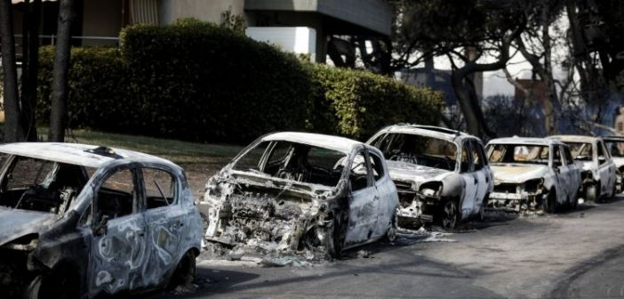 Δεκάδες εμπρησμοί οχημάτων σε Μαρούσι, Αθήνα, Αγία Παρασκευή