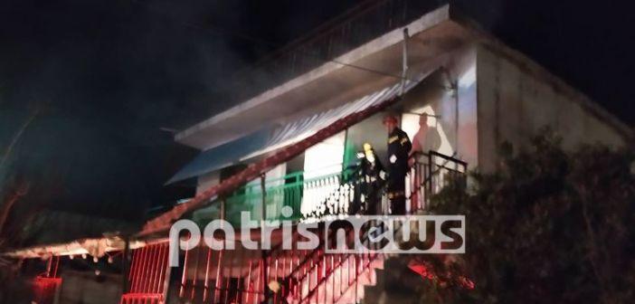 Δυτική Ελλάδα: Ένας νεκρός από πυρκαγιά σε σπίτι στον Αγ. Ιωάννη Αμαλιάδας (VIDEO)