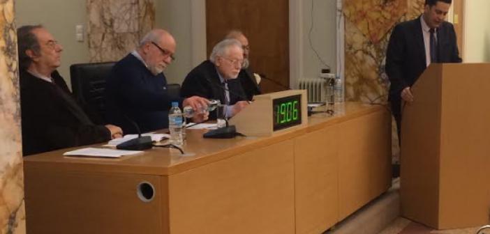 Αγρίνιο: Με επιτυχία παρουσιάστηκε το μυθιστόρημα του Πάνου Καπώνη «Η Υβρις» (ΔΕΙΤΕ ΦΩΤΟ)