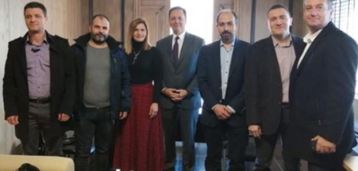 Συνάντηση Λιβανού με το προεδρείο της Ένωσης Αστυνομικών Υπαλλήλων Ακαρνανίας (ΦΩΤΟ)