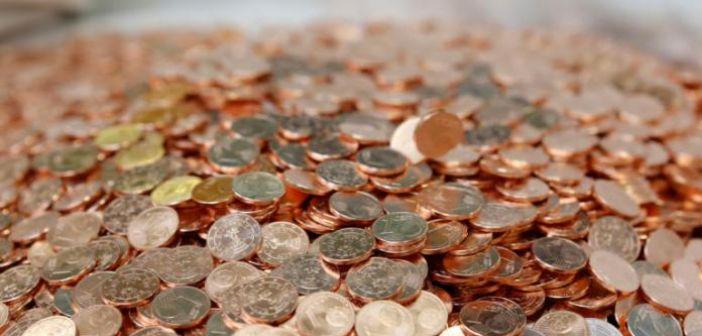Σκέψεις της Ευρωπαϊκής Επιτροπής για απόσυρση των νομισμάτων του 1 και 2 λεπτών του ευρώ