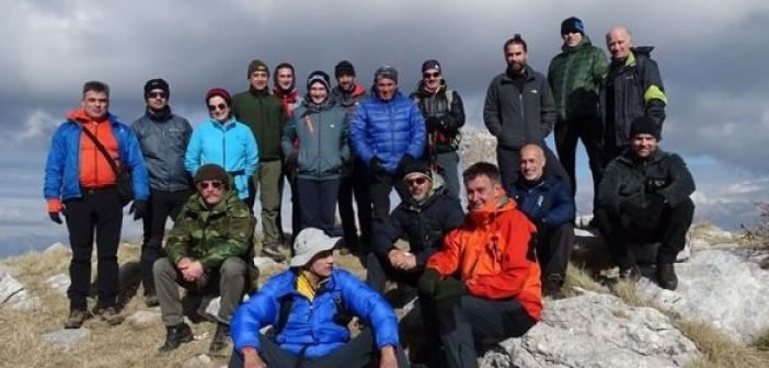 Ανάβαση στον Κατελάνο από τον Ορειβατικό Σύλλογο Αγρινίου (ΔΕΙΤΕ ΦΩΤΟ)
