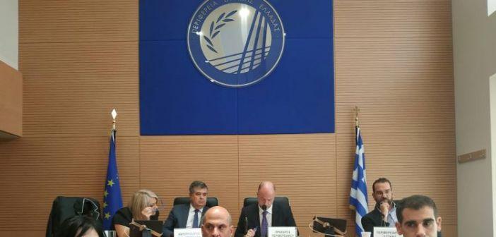 Συνεδρίαση Περιφερειακού Συμβουλίου την Τετάρτη