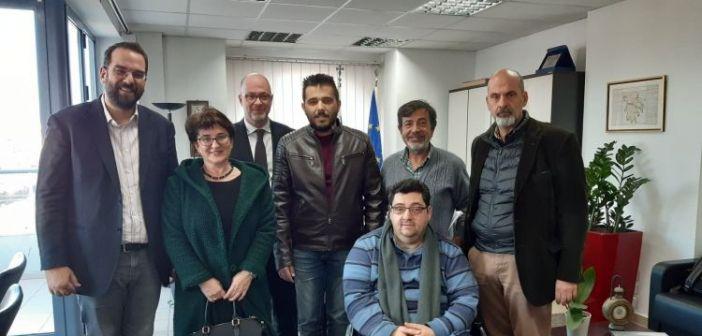 Στον Περιφερειάρχη το Δ.Σ. της Περιφερειακής Ομοσπονδίας Ατόμων με Αναπηρία Δυτικής Ελλάδας