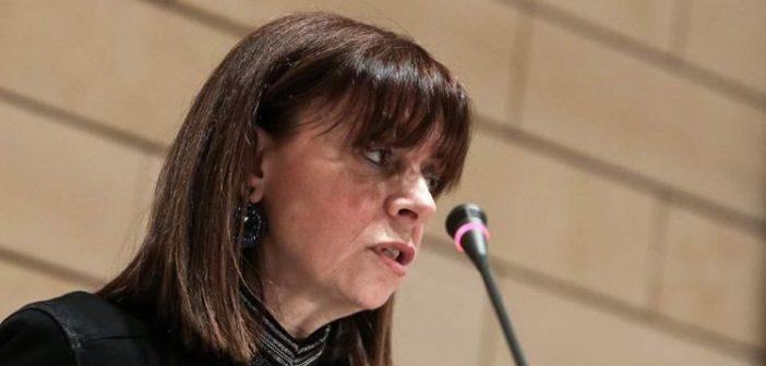 Σακελλαροπούλου: Στο πρόσωπό μου τιμάται τόσο η Δικαιοσύνη όσο και η σύγχρονη Ελληνίδα