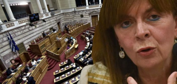 Η Κατερίνα Σακελλαροπούλου πρώτη γυναίκα Πρόεδρος της Δημοκρατίας με 261 ψήφους