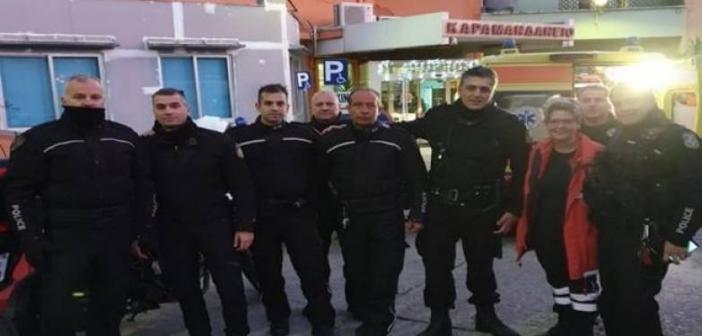 """Δυτική Ελλάδα: Αυτοί είναι οι """"σωτήρες"""" Αστυνομικοί του ενός έτους παιδιού – Σε χρόνο ρεκόρ στο Καραμανδάνειο (ΦΩΤΟ)"""