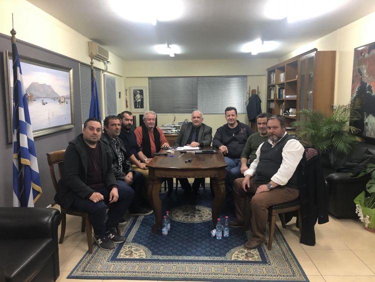 Συνάντηση του Δημάρχου Κώστα Λύρου με το Σύλλογο Πανηγυριστών«Ο ΆηΣυμιός»