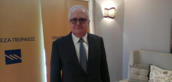 Στο Αγρίνιο ο Πρόεδρος της Τράπεζας Πειραιώς Γιώργος Χαντζηνικολάου (ΔΕΙΤΕ VIDEO + ΦΩΤΟ)