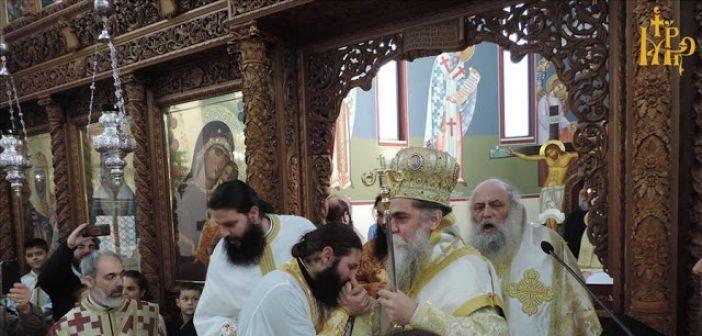 Χειροτονήθηκε ιερέας στην Άρτα ο διάκονος Θεόδωρος Γότσης από το Μοναστηράκι Βόνιτσας