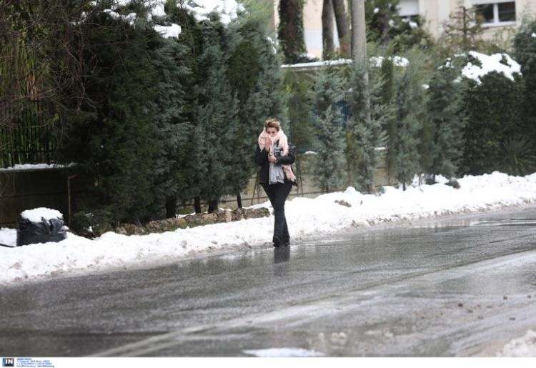 Image result for Καιρός: Τοπικές χιονοπτώσεις και παγωνιά