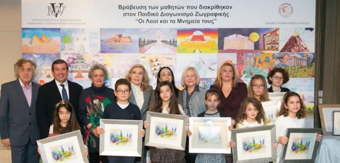Βραβεία Ζωγραφικής σε μαθητές από το Λουτρό και τη Μπούκα από την Μαριάννα Βαρδινογιάννη και τη Διεθνή Αστρονομική Ένωση (ΔΕΙΤΕ ΦΩΤΟ)