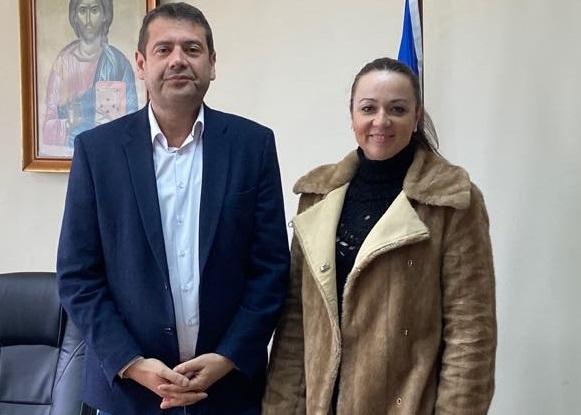 Συνάντηση δημάρχου Αμφιλοχίας με τη δήμαρχο Νικολάου Σκουφά με σκοπό την ανάπτυξη συνεργασίας