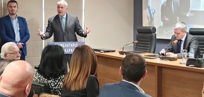 Αιτωλοακαρνανία – Αρδευτικά: Στο νέο ΕΣΠΑ παραπέμπει ο Βορίδης – Φαρμάκης: Πρώτη προτεραιότητα