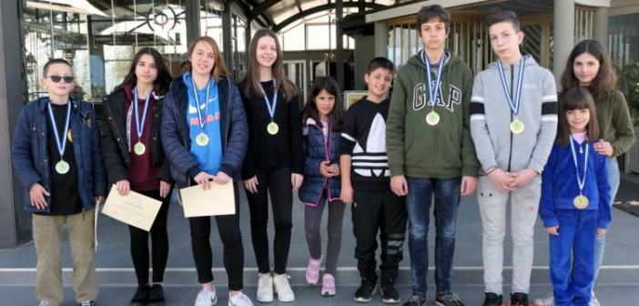 Οκτώ (8) μετάλλια στο σκάκι για τους μαθητές – αθλητές του ΑΣΟΝ 'ΕΠΑΧΤΟΣ' (ΦΩΤΟ)