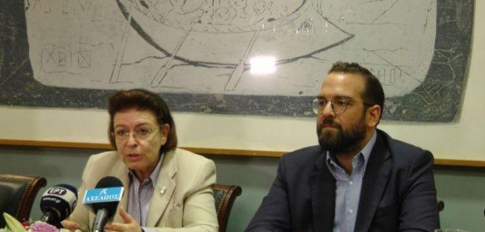 Η Υπουργός Πολιτισμού, Λίνα Μενδώνη στην έδρα της Περιφέρειας Δυτικής Ελλάδας – Προγραμματισμός έργων για την επόμενη περίοδο
