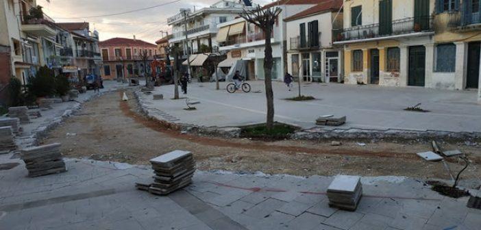 """Βόνιτσα: """"Μας τάξατε πλατεία, όχι δρόμο"""" (ΔΕΙΤΕ ΦΩΤΟ)"""